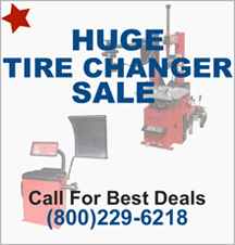 Huge Tire Changer Sale
