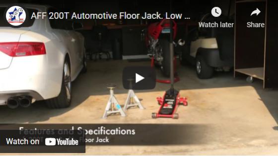 AFF 200T Automotive Floor Jack. Low profile professional car jacks