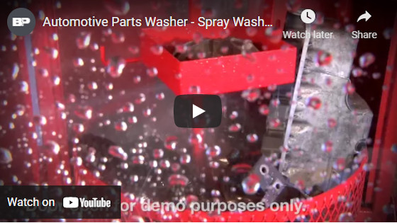 Automotive Parts Washer - Spray Wash Cabinet - Ranger Products