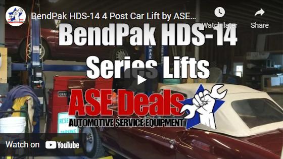 BendPak HDS-14 4 Post Car Lift by ASEDeals