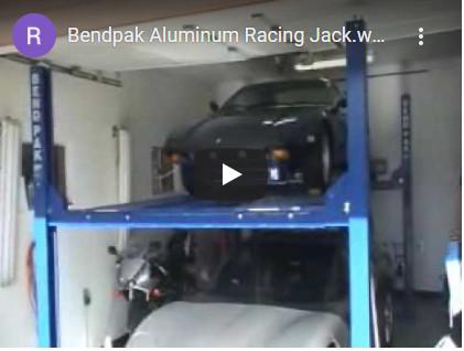 Bendpak Aluminum Racing Jack
