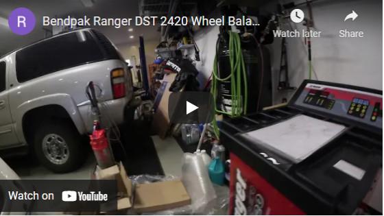 Bendpak Ranger DST 2420 Wheel Balancer: Delivery, unboxing, start-up