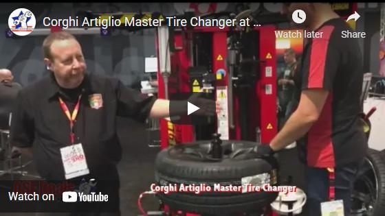 Corghi Artiglio Master Tire Changer at ASEDeals.com