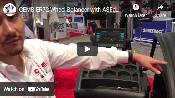 CEMB ER72 Wheel Balancer with ASEdeals at SEMA 2017