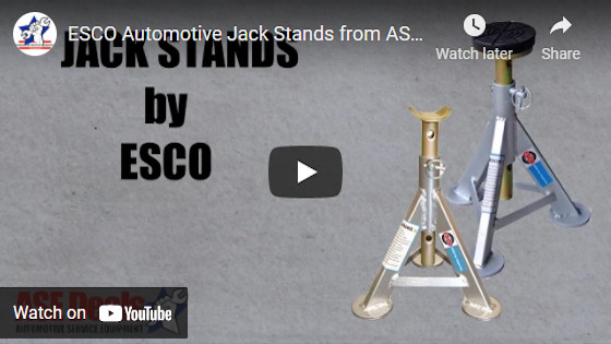 ESCO Automotive Jack Stands from ASEdeals