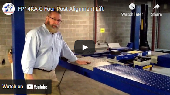 FP14KA-C Four Post Alignment Lift
