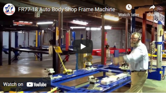 FR77-18 Auto Body Shop Frame Machine