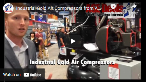 Industrial Gold Air Compressors from ASEDeals.com