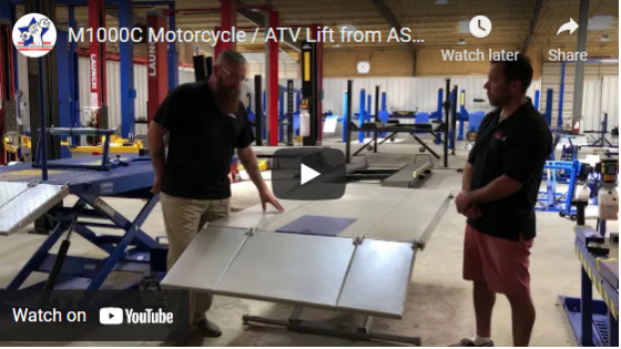 M1000C Motorcycle ATV Lift from ASE Deals and Tuxedo