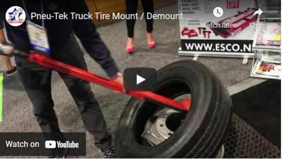 Pneu-Tek Truck Tire Mount Demount Tool - 20414 and 20415