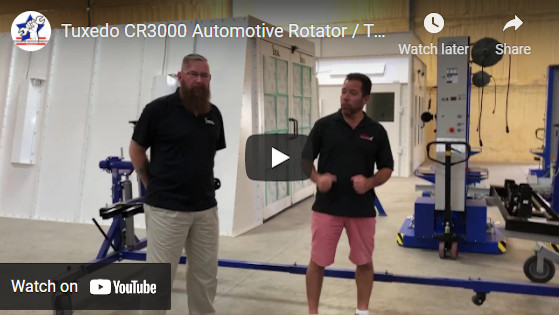 Tuxedo CR3000 Automotive Rotator Twirler Rotisserie from ASEDEals.com