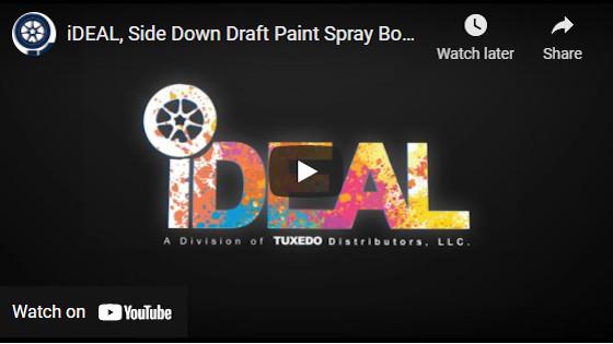 iDEAL, Side Down Draft Paint Spray Booth (PSB-SDD26B-AK)