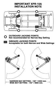 BendPak-Two-Post-Lift-Install-Drawing