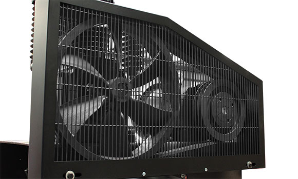 air compressor cooling fan