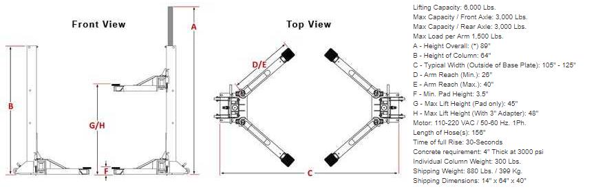 dannmar maxjax dimensional drawing