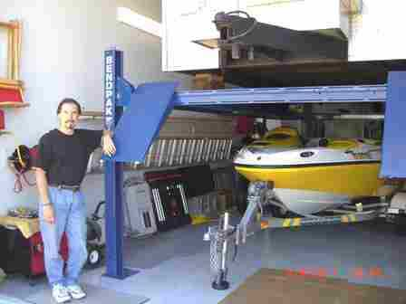 BendPak HD-7500 Boat and Trailer Lift - Kerry Alexander