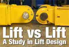BendPak Study In Lift Design