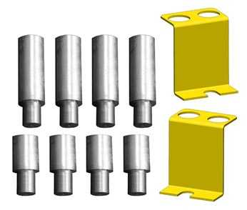 Two Post Lift Truck Adapters