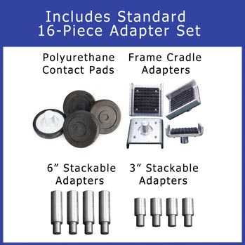 BendPak Frame Cradle Pad Adapter Kit