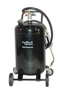 air operated fluid dispenser