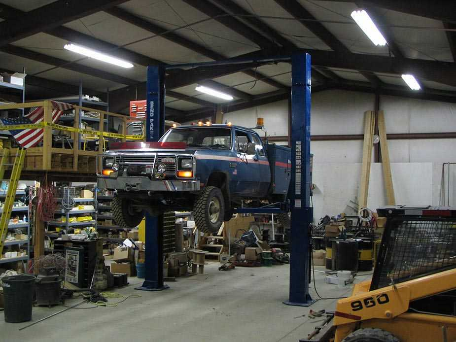 your auto shop garage and liability car lift blog