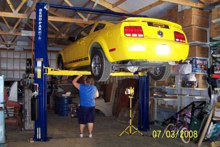 Automotive Lift Inspection