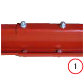 Launch automotive lift adjustable column width