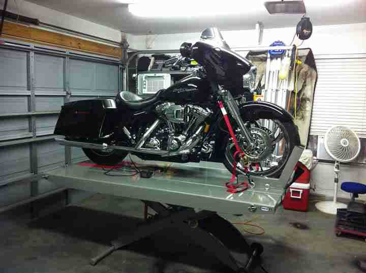 Ranger RML600XL Motorcycle Lift 89737