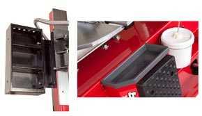 Ranger Tire Changer - Tool Storage