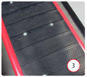 TLT210XT Two Post Lift Rubber Door Guards