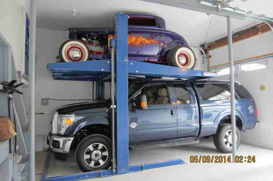 BendPak PL-7000XR Car Storage Lift - 94214