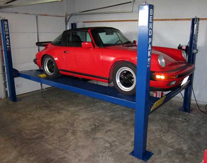 HD9ST Auto Lift for '87 Porsche 911