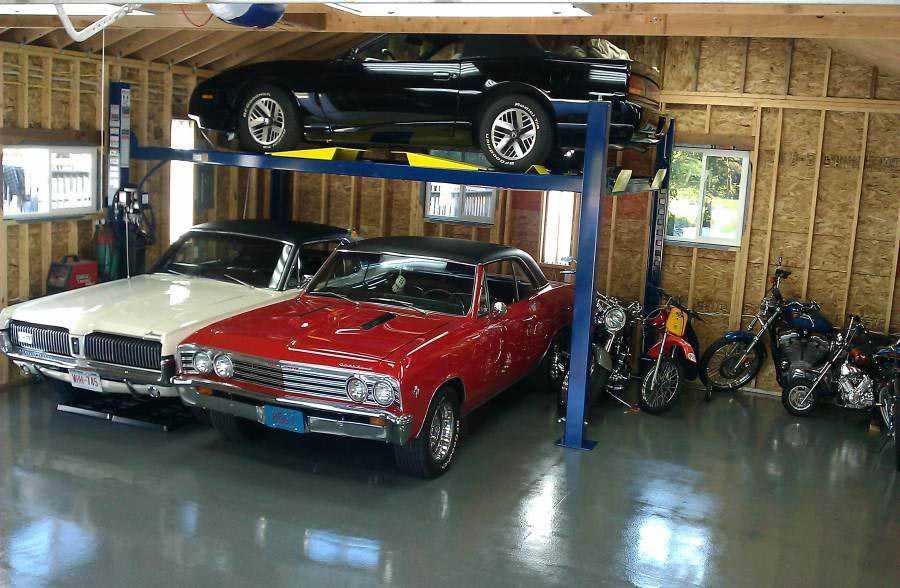 Auto lift garage plans for Car lift garage plans