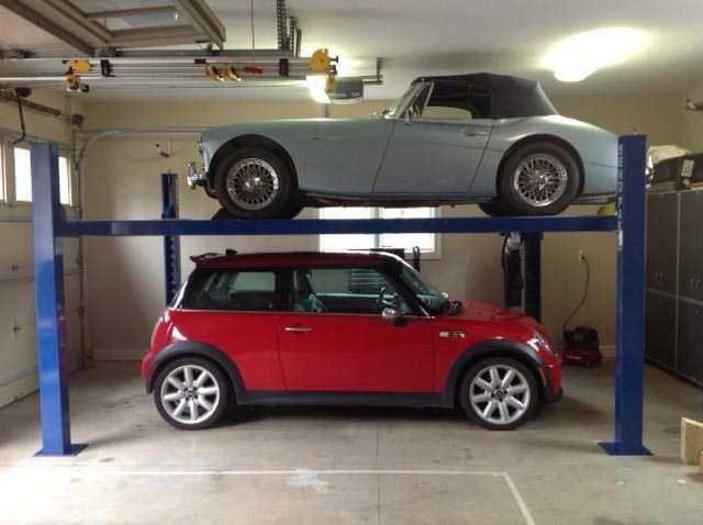 Automobile Lift Clean Design
