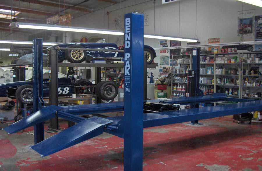 Jay Leno's Garage 4 Post Car Lift
