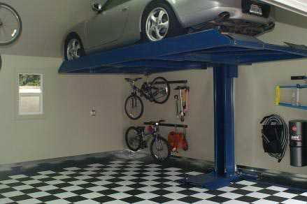 Garage Remodel Single Post Lift