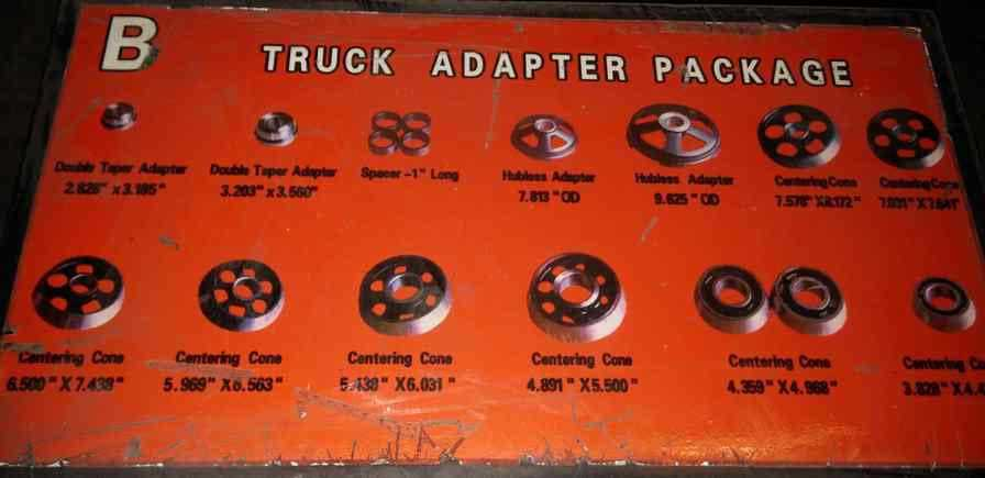 Workhorse Truck Adapter Package B