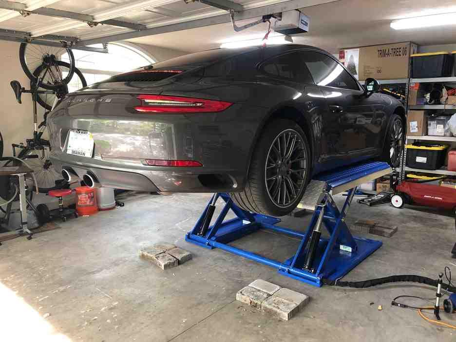 Tuxedo MR6K-38 Car Lift - customer testimonial