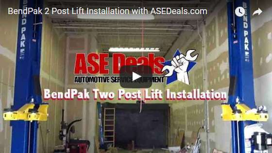 Video: BendPak 2 Post Lift Installation