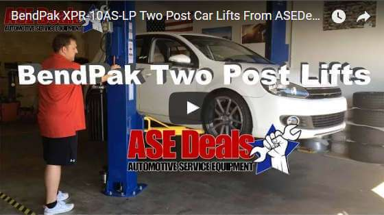 Video: BendPak XPR-10AS-LP from ASEDeals