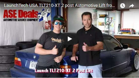 Video: LaunchTech USA TLT210-XT 2 post Automotive Lift