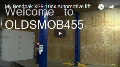 Video: My BendPak XPR-10cx Automotive Lift